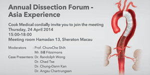 Case presenter of Annual Dissection Forum
